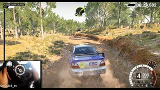 dirt 4 Newbie On Wheel (Logitech Driving Force Pro) Ford Escort RS Cosworth Gameplay (POV)