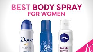 5 Best Bodysprays for Women in India with Price | Bodyspray for Indian Skin Types