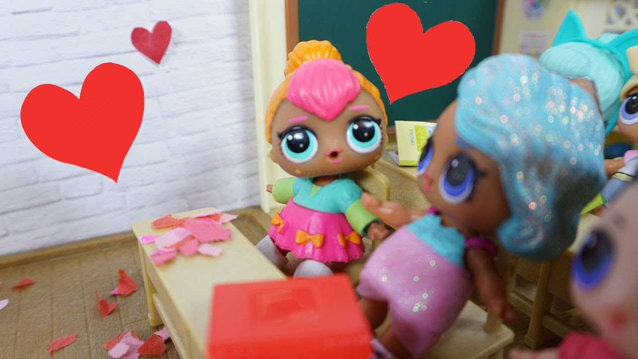 Lol Surprise Dolls Go To School Amp Cutie Can T Wait To See