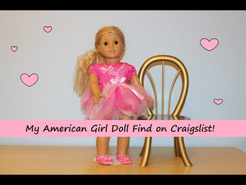 My American Girl Doll Find On Craiglist!