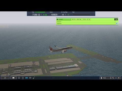 ATC 4: RJTT - Haneda Airport - Stage 1 - YouTube