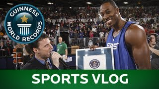 The Sports Vlog, July 2013 - Guinness World Records