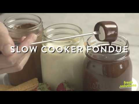Save-On-Foods - Fresh Solutions How To - Slow Cooker Fondue