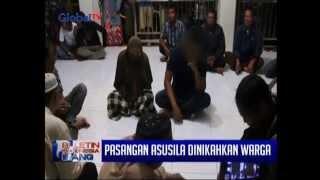 Ketahuan Berbuat Mesum, Pasangan Muda Mudi Tertunduk Malu Dinikahkan Warga - BIS 04/09