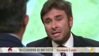 Alessandro Di Battista a Di Martedi (INTEGRALE) 24/1/2017