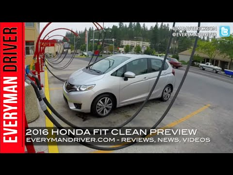 Here's my 2016 Honda FIT Clean Car Preview on Everyman Driver