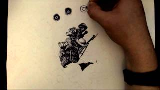 Remembrance Day Time-lapse Art