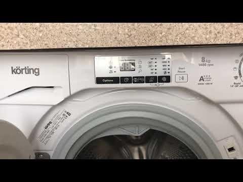 Отзыв стиральная машина Körting KWMI1480W