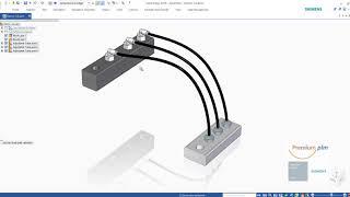 Solid Edge : Assembly Adjustable Tubes ภาษาไทย โดยทีมงาน พรีเมียม พีแอลเอ็ม