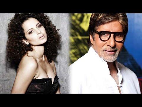 Is Kangana Ranaut asking for credit in 'Rangoon', Tanmay Bhatt POKES fun at Amitabh Bachchan