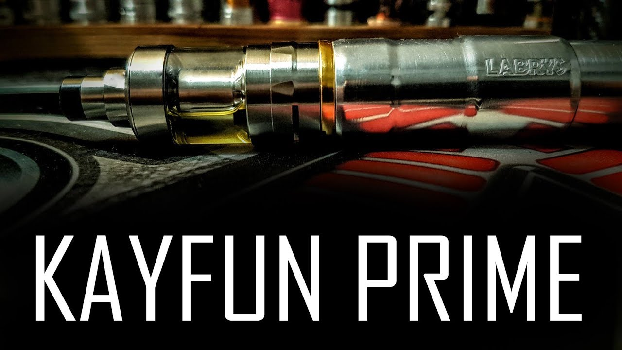 Kayfun Prime by SvoeMesto - MTL at its best :-) - YouTube