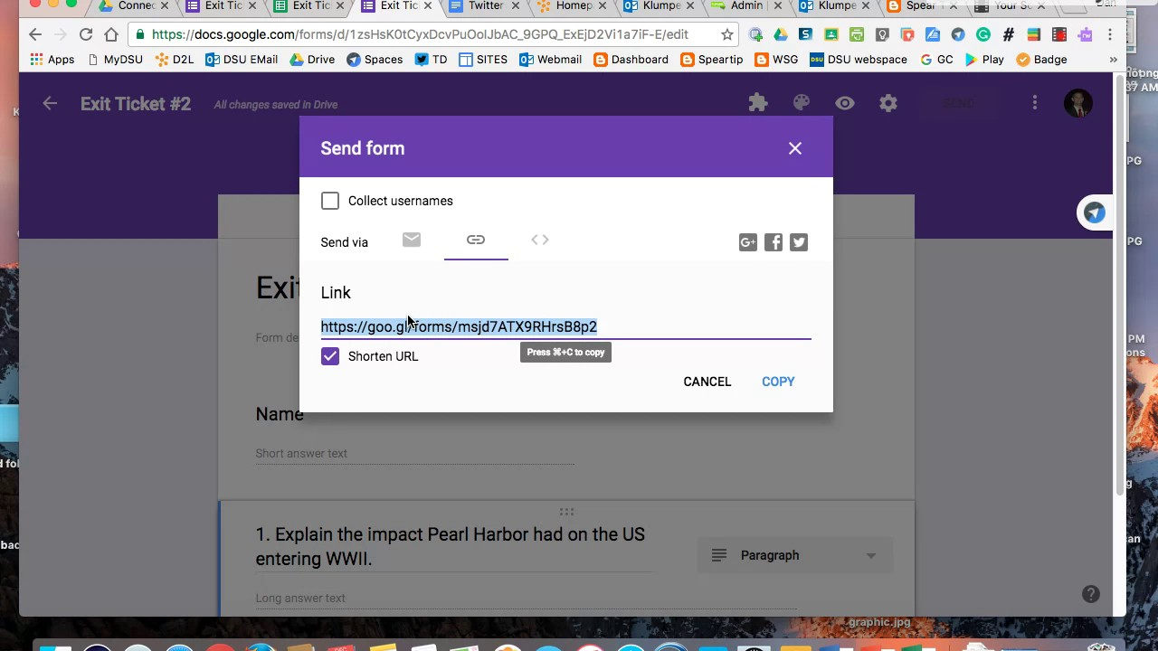 How to merge multiple Google Forms into one - YouTube