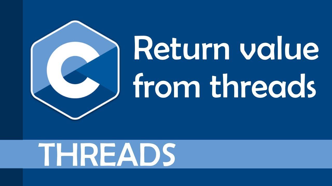 Get Return Value from a Thread (pthread_join)