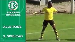 6 Tore: Krasse Moukoko-Show | Alle Tore der A-Junioren-Bundesliga | 1. Spieltag