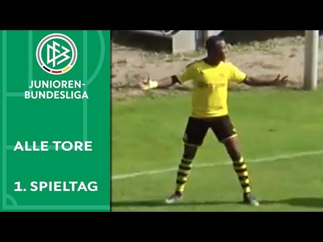 6 Tore: Krasse Moukoko-Show   Alle Tore der A-Junioren-Bundesliga   1. Spieltag