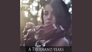 Gambar cover A Thousand Years (Instrumental Violin & Piano Cover)