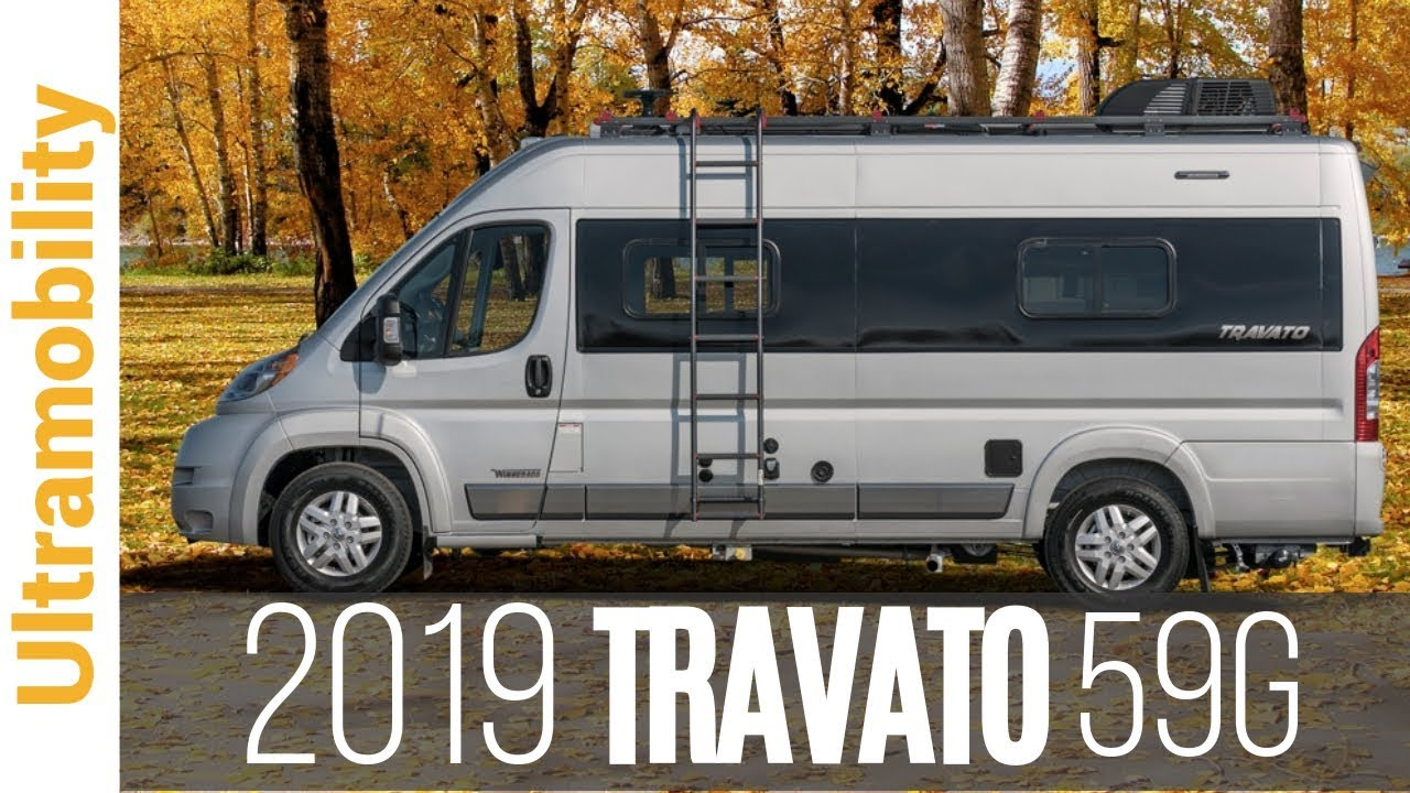 2019 Winnebago Travato 59G Review | Short Class B RV Camper Van Built on  the Ram Promaster Chassis