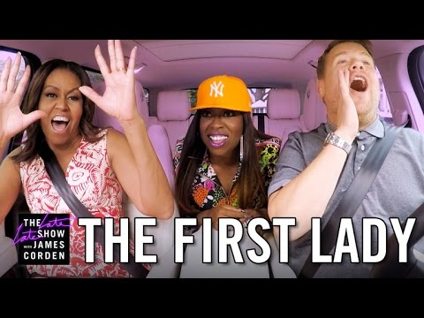 Thumbnail: First Lady Michelle Obama Carpool Karaoke