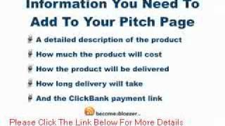 How to Create a ClickBank Pitch Page Using a Blog