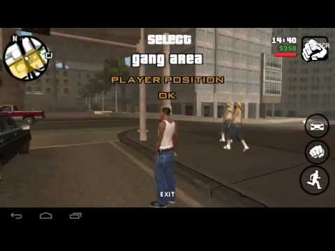 GTA SA Android CLEO : Gang Zone Editor ( in-game )