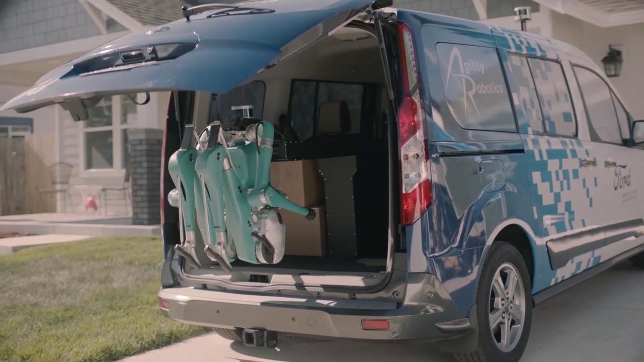 Ford apresenta o robô entregador Digit