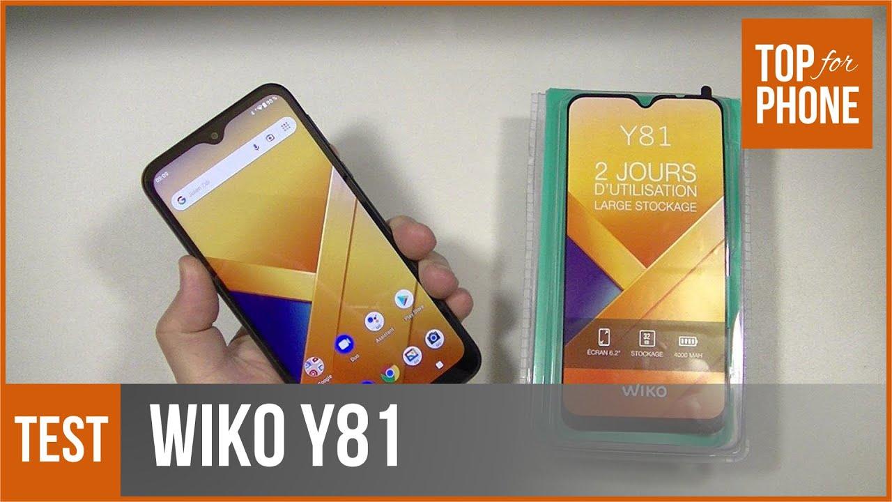 WIKO Y81 - test par TopForPhone
