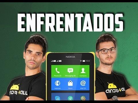 Enfrentados por el Nokia X