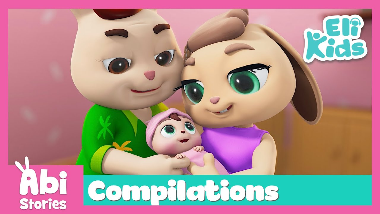 Download Parents Love +More | Life Lessons For Kids | Abi Stories Compilations | Eli Kids Educational Cartoon