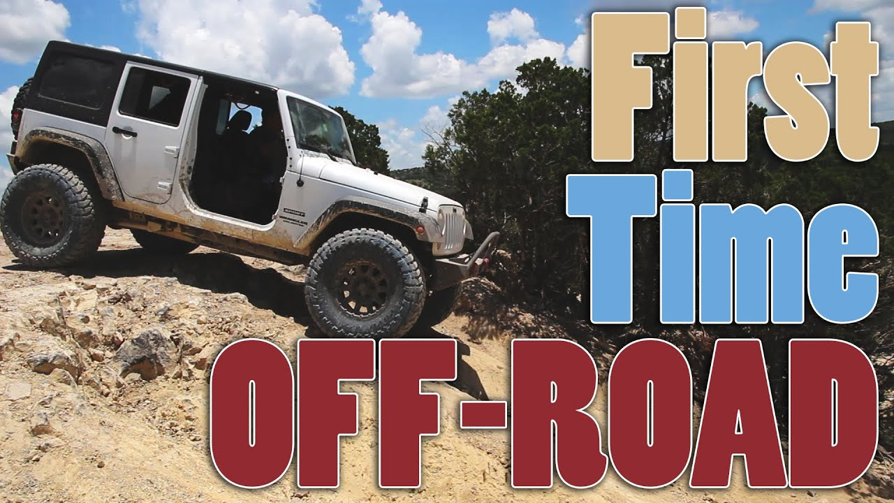 First Time Offroading 2015 Jeep Wrangler Unlimited