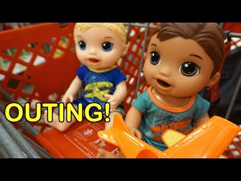 BABY ALIVE BOY Outing For Toys At Target!