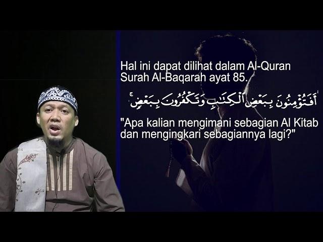 Bukan Tidak Percaya Muhammad, Tapi Tidak Percaya Allah SWT - AsbabunNuzul QS Al An'am33 Ust Dikdik