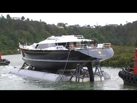 Super Yacht Launching