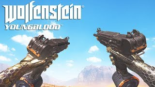 Wolfenstein Youngblood ALL Weapons Showcase
