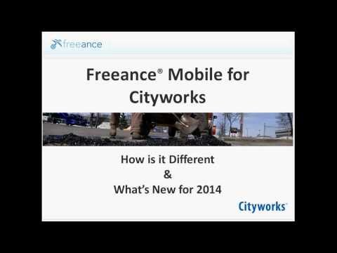 What's New - Freeance Mobile for Cityworks Webinar - Omaha Leader