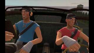 Repeat youtube video Team Fortress 2: Moments with Heavy - Heavy Takes his Driving Test