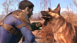 Fallout 4 Псина и другие спутники HD русские субтитры