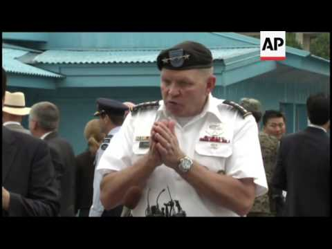 Ceremony at DMZ marking 60th anniversary of Armistice Agreement
