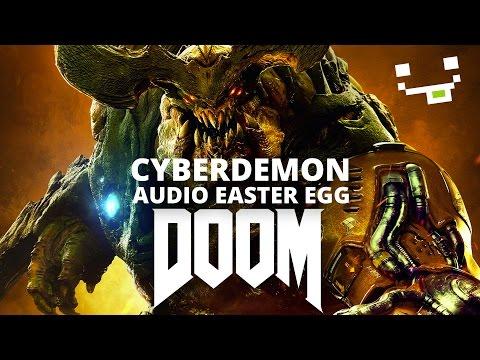 DOOM 2016 Easter Egg - Hidden 666 in the Cyberdemon Song