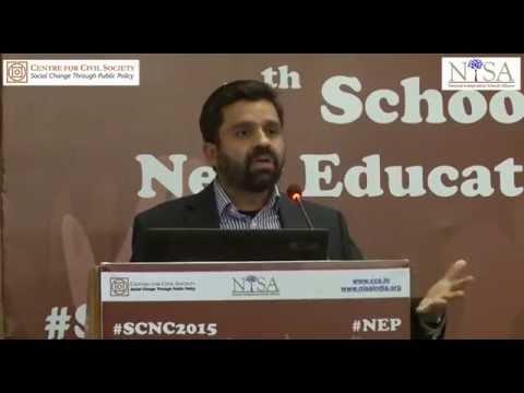 SCNC 2015 | Session 4 | Fixing Up Accountability in Education System | Amitav Virmani