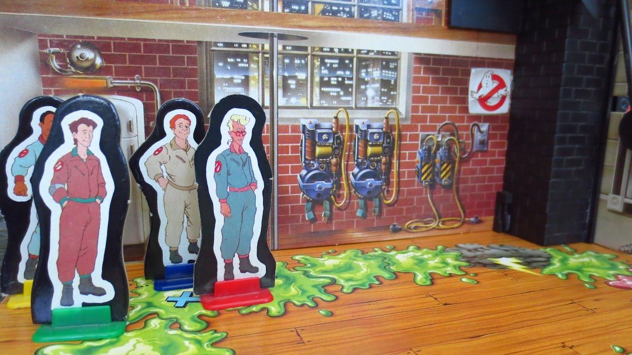 the real ghostbusters board game