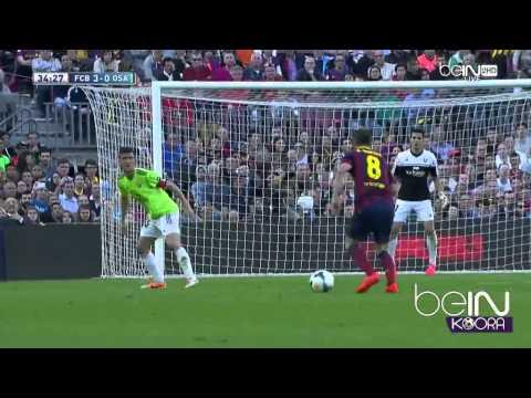 Barcelona.VS.Osasuna 7:0 2014/23/03