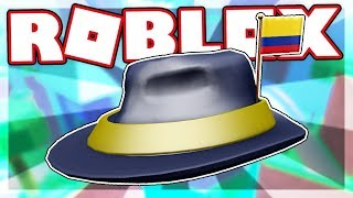 [FREE ITEM] How to get the INTERNATIONAL FEDORA - COLOMBIA | Roblox