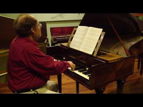 Hass Original Harpsichord (1764) Saraband by Handel