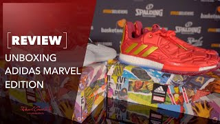 ADIDAS Marvel Editions Unboxing - WOW!