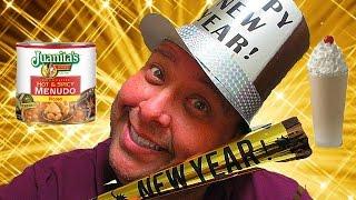 Joey's New Year's Eve Menudo Milkshake Challenge!
