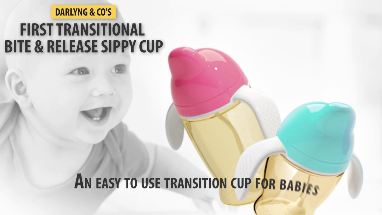 First Transition Antibacterial Bite & Release Sippy Cup