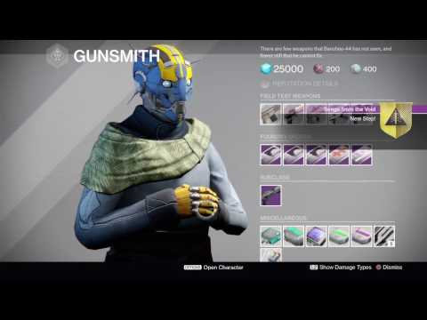 Songs From The Void Quest - Nova Mortis (Destiny: The Dawning)