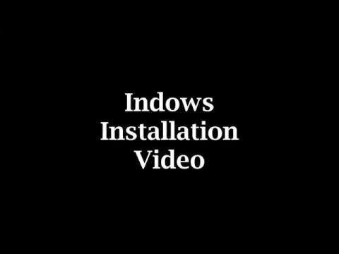Indow window inserts installation