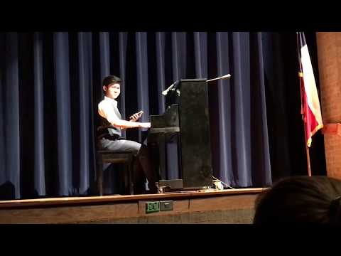 Kid plays sick piano memes At HS Talent Show