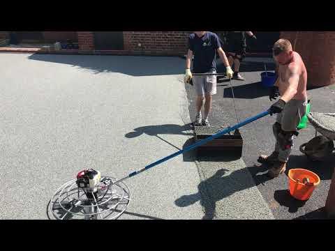 Resin-pave surfacing